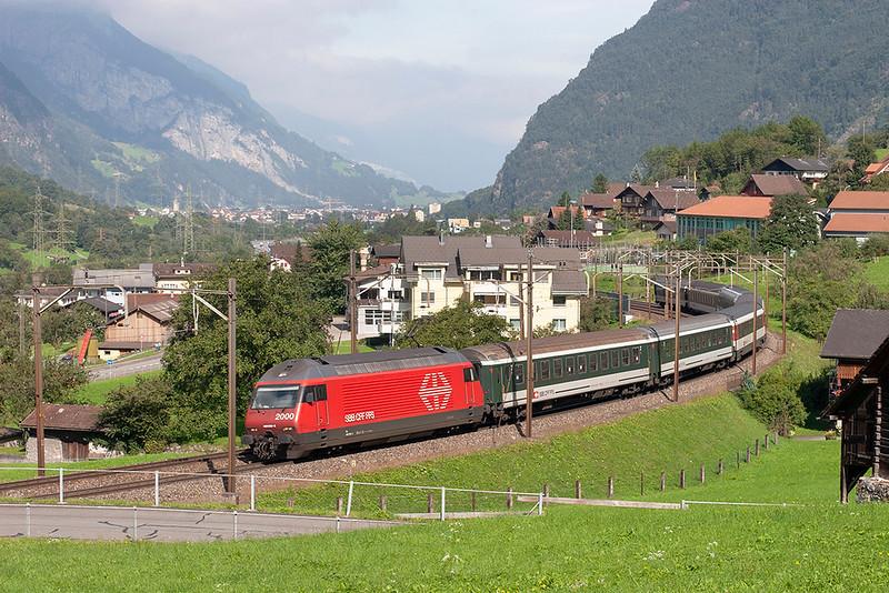 460095 Silenen 17/9/2008<br /> IR2267 1009 Zürich HB-Locarno