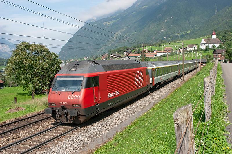460097 Silenen 17/9/2008<br /> EC115 1104 Basel SBB-Milano Centrale