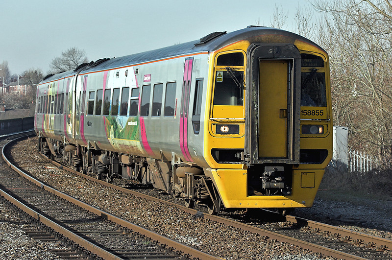 158855 Preston 18/2/2008<br /> 1B31 1330 Blackpool North-York
