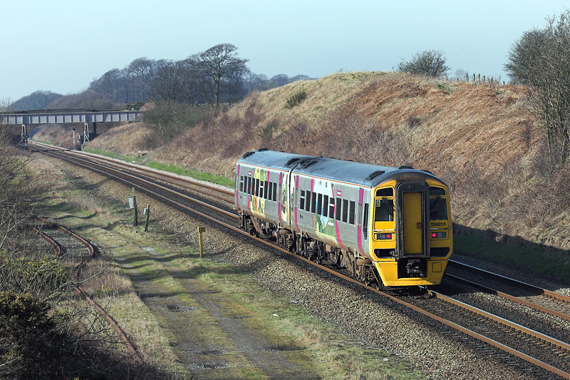 158855 Kirkham Tip 18/2/2008<br /> 1B26 1011 York-Blackpool North