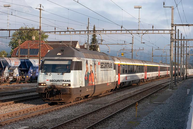 460114 Altdorf 18/9/2008<br /> EC171 0715 Zürich HB-Milano Centrale