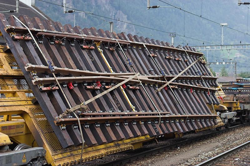 Track Panel, Erstfeld, Switzerland 18/9/2008
