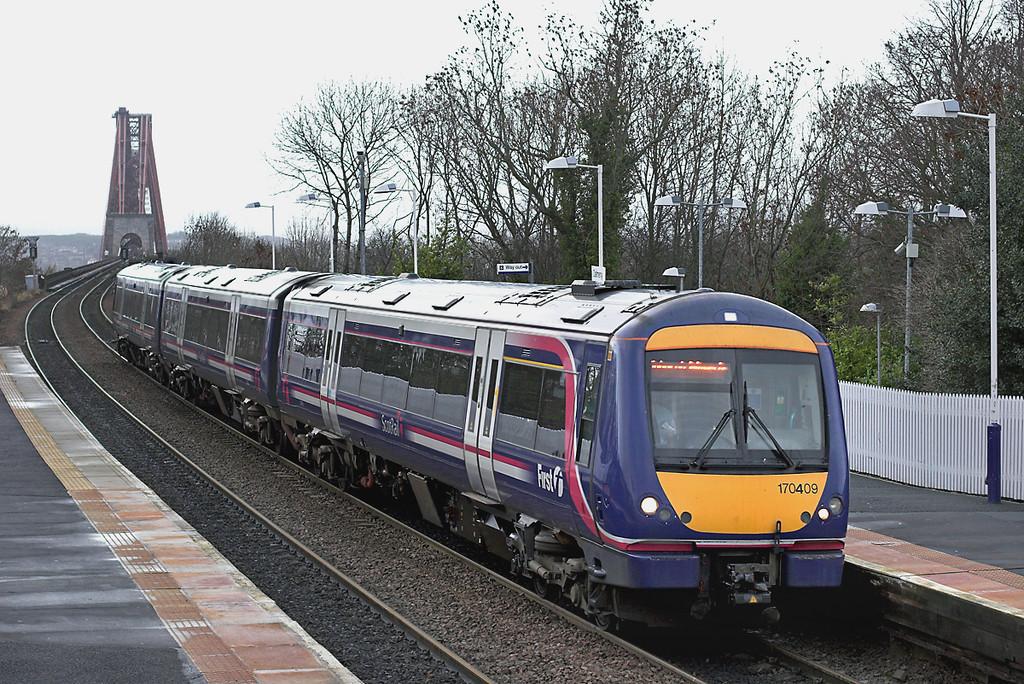 170409 Dalmeny 18/12/2008<br /> 2G49 0933 Newcraighall-Edinburgh <br /> (via Fife Circle, clockwise)
