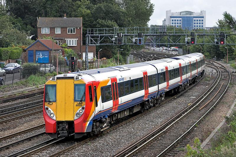 8003 Southampton 20/8/2008<br /> 5B39 1011 Wimbledon Park-Bournemouth TMD