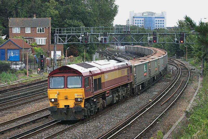 59202 Southampton 20/8/2008<br /> 6O48 0922 Whatley Quarry-Hamsworthy