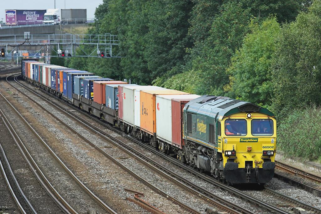 66502 Southampton 20/8/2008<br /> 4M61 1300 Southampton MT-Trafford Park FLT