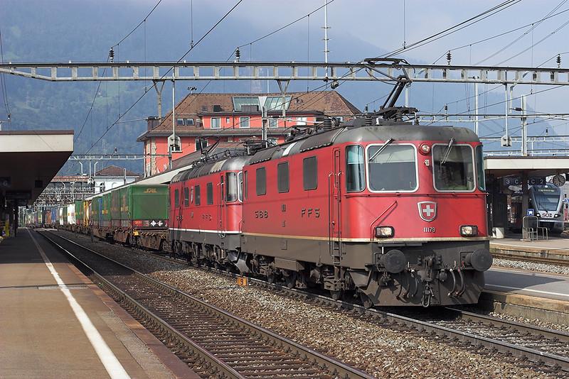 11179 and 11652, Arth-Goldau 20/9/2008