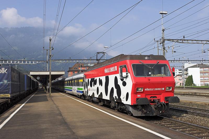 456094 Arth-Goldau 20/9/2008<br /> IR2417 1040 Luzern-Romanshorn