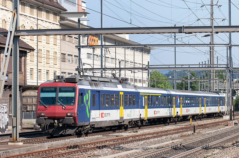 562005 Pratteln 20/9/2008<br /> S1 1434 Laufenburg-Basel SBB