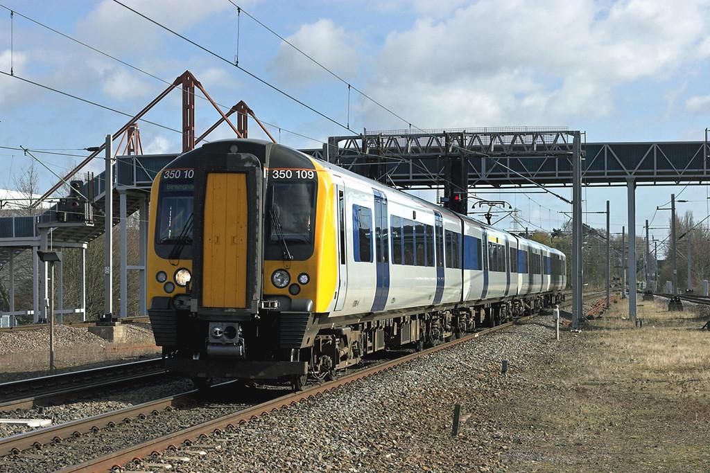350109 Birmingham International 21/3/2008<br /> 1Y53 1433 Coventry-Birmingham International