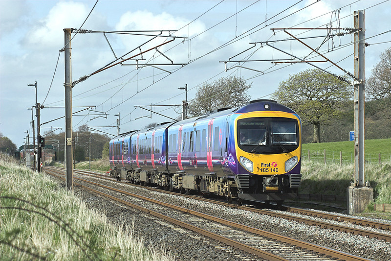 185140 Woodacre 24/4/2008<br /> 1M95 1340 Glasgow Central-Manchester Airport