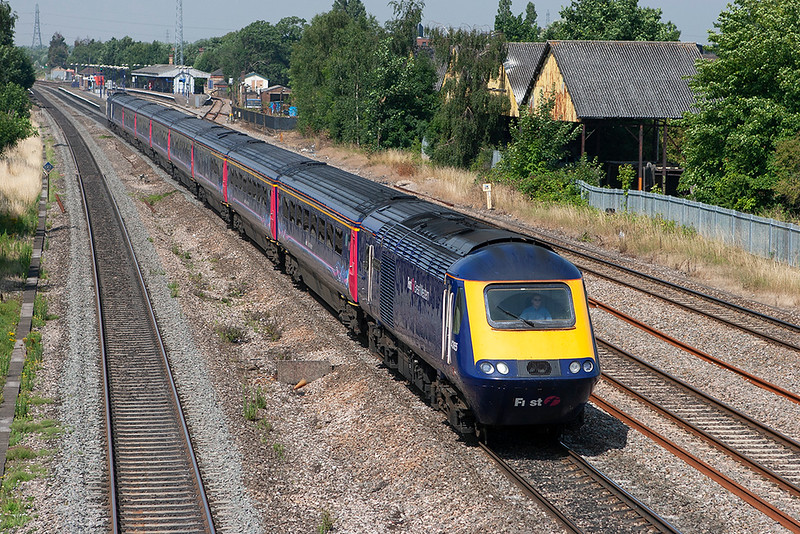 43165 and 43030, West Drayton 24/7/2008<br /> 1A85 0541 Penzance-London Paddington