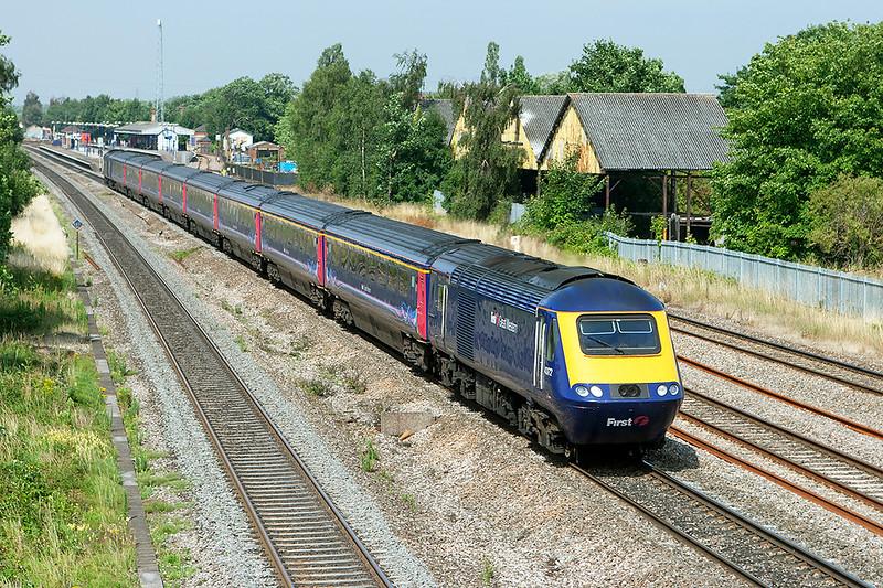 43172 and 43035, West Drayton 24/7/2008<br /> 1L38 0759 Swansea-London Paddington