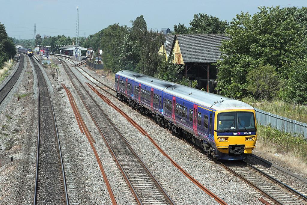 165104 West Drayton 24/7/2008<br /> 2P40 0955 Oxford-London Paddington
