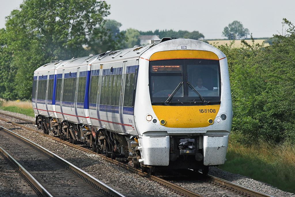 168108 Kings Sutton 24/7/2008<br /> 1H48 1452 Birmingham Snow Hill-London Marylebone