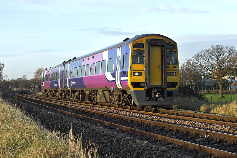 158903 Gregson Lane 24/11/2008<br /> 1B21 0829 Blackpool North-York