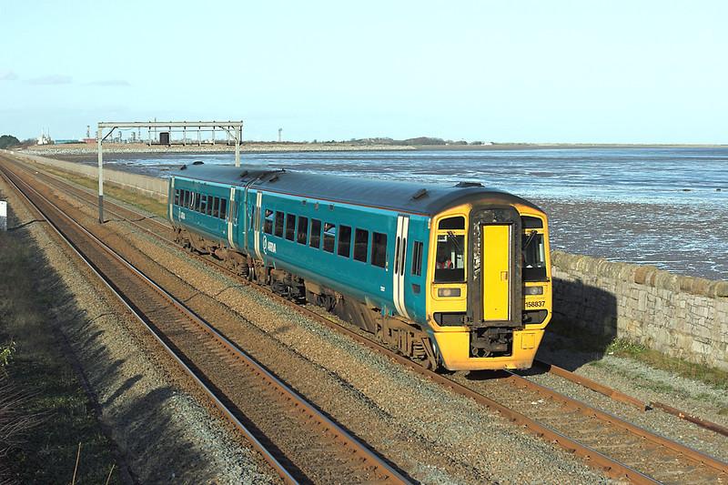 158837 Ffynongroyw 25/11/2008<br /> 5T55 0930 Gaerwen-Chester