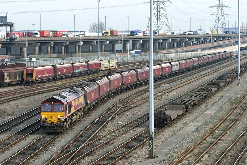 66194 Washwood Heath 29/1/2008<br /> 4H95 0900 Ironbridge PS-Washwood Heath