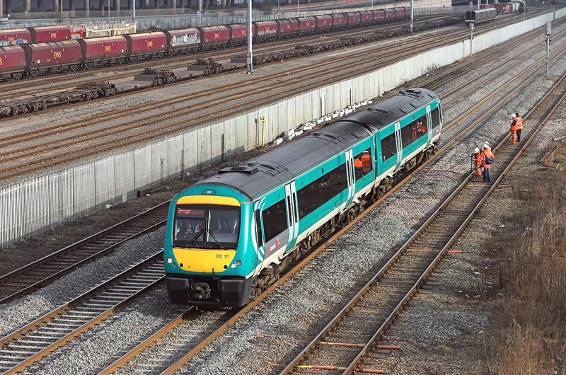 170111 Washwood Heath 29/1/2008<br /> 1K12 1110 Leicester-Birmingham New Street