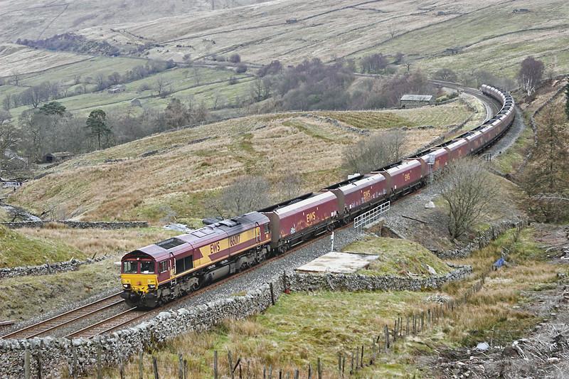 66017 Denthead 29/3/2008<br /> 6E85 0521 Hunterston-Drax PS
