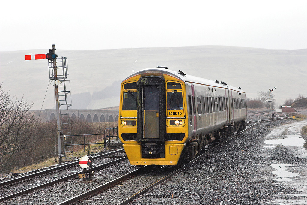 158815 Garsdale 29/3/2008<br /> 2H89 1151 Carlisle-Leeds