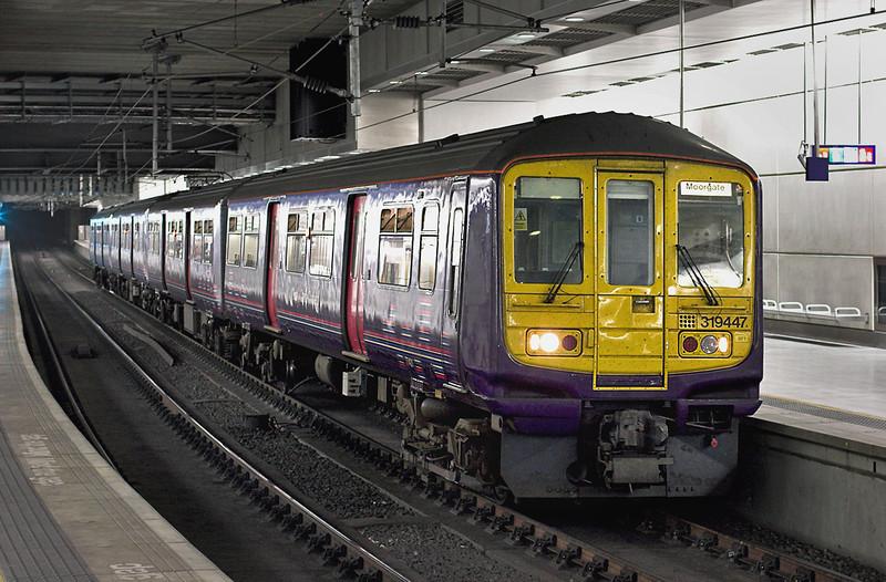 319447 London St Pancras 29/8/2008<br /> 1A88 1020 Bedford-Moorgate