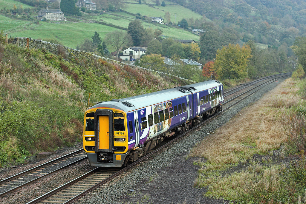 158796 Eastwood 29/10/2008<br /> 1B22 0812 Selby-Blackpool North