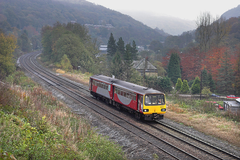 144010 Eastwood 29/10/2008<br /> 5N16 0921 Hebden Bridge-Hebden Bridge (via Hall Royd Jn)