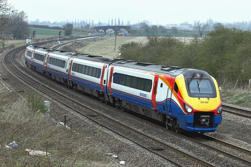 222009 Wellingborough 3/4/2009<br /> 1B41 1202 Nottingham-London St Pancras