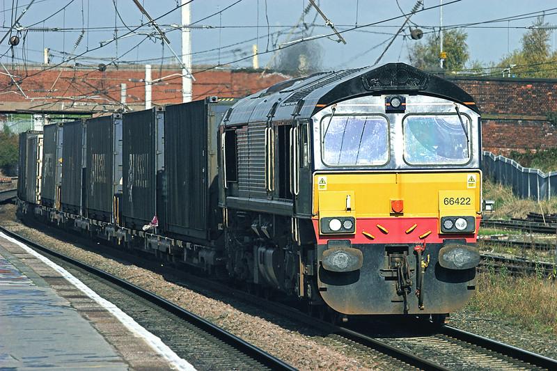 66422 Warrington Bank Quay 3/11/2009<br /> 4M34 0438 Coatbridge-Daventry