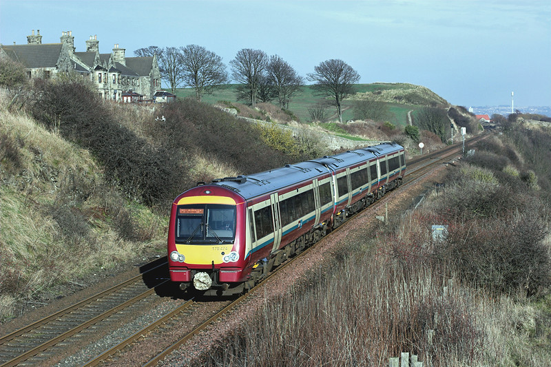 170474 Linton Court 4/2/2009<br /> 2G65 1037 Newcraighall-Edinburgh <br /> (via Fife Circle clockwise)