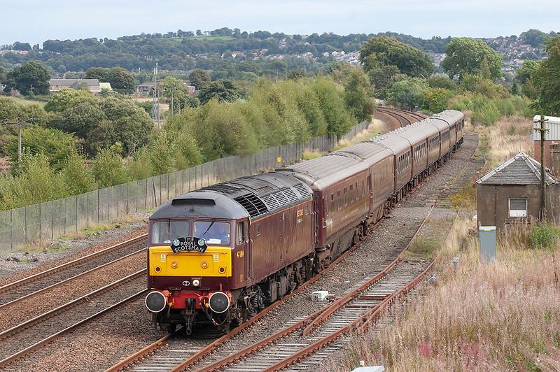 47804 Whitecross 4/9/2009<br /> 1H85 1332 Edinburgh-Spean Bridge
