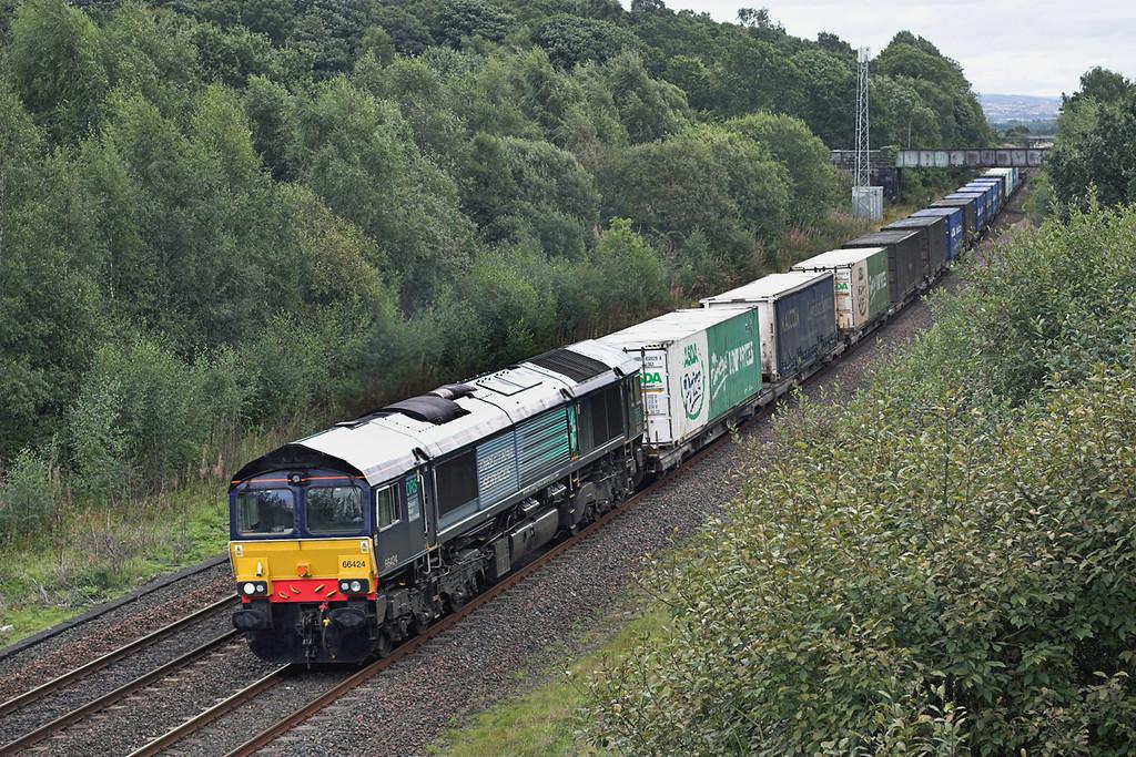 66424 Cowie 4/9/2009<br /> 4A13 1220 Grangemouth-Aberdeen