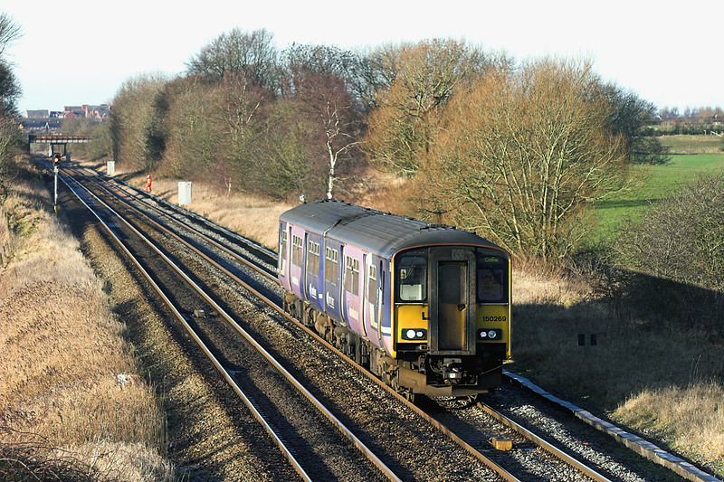 150269 Treales 5/1/2009<br /> 2N18 1044 Blackpool South-Colne