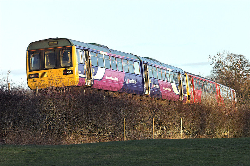 142066 and 144002, Wennington 5/1/2009<br /> 2H90 1349 Leeds-Morecambe