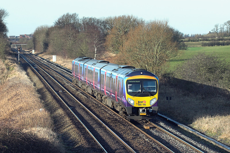 185116 Treales 5/1/2009<br /> 1U61 1045 Blackpool North-Manchester Airport