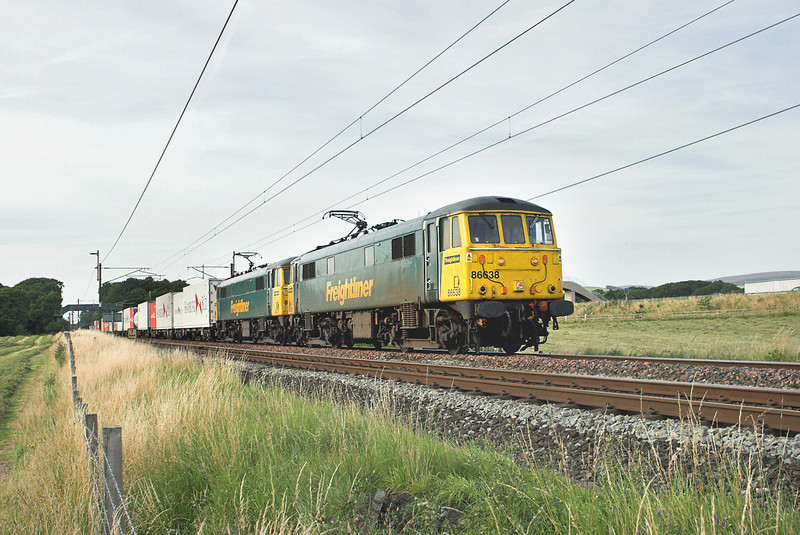 86638 and 86621, Brock 5/8/2009<br /> 4M74 1401 Coatbridge-Basford Hall