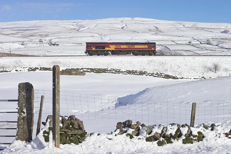 66095 Ais Gill 6/2/2009<br /> 0K05 1226 Carlisle Yard-Basford Hall