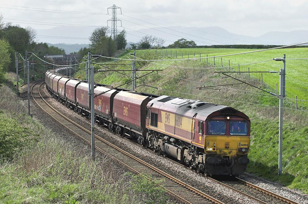 66004 Docker 7/5/2009<br /> 4S04 1330 Warrington Walton Old Junction-Falkland Yard