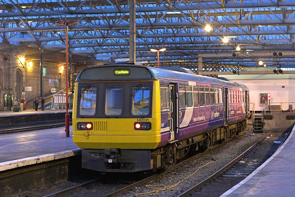 142021 Carlisle 8/4/2009<br /> 2N62 2120 Carlisle-Newcastle