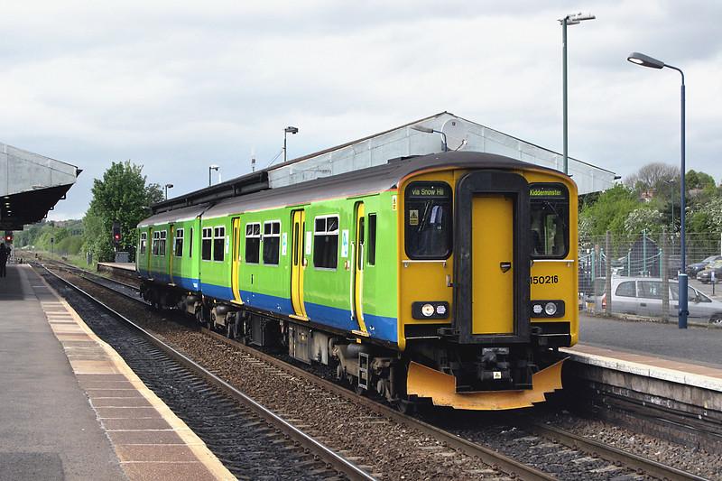 150216 Stourbridge Junction 9/5/2009<br /> 2K45 1509 Dorridge-Kidderminster