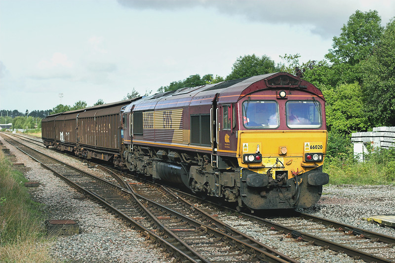 66020 Bamber Bridge 9/9/2009<br /> 6N42 0838 Warrington Arpley-Blackburn