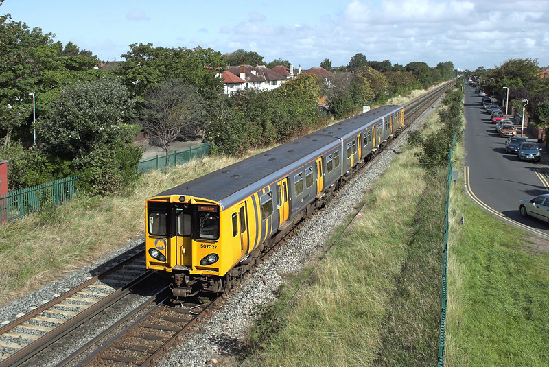 507027 Hillside 9/9/2009<br /> 2U24 1128 Southport-Hunts Cross