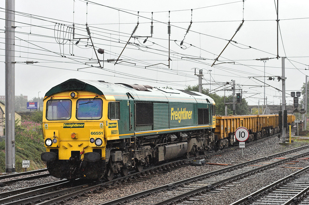 66551 Carlisle 10/8/2009<br /> 6C16 0811 Basford Hall-Carlisle Yard