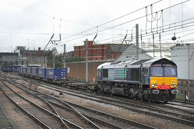 66413 Carlisle 10/8/2009<br /> 4M64 0828 Mossend-Daventry