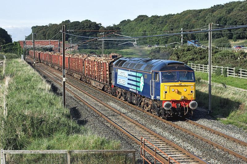 57012 Woodacre 10/9/2009<br /> 6J37 1251 Carlisle Yard-Chirk