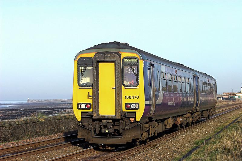 156470 Flimby 10/12/2009<br /> 2C46 1149 Carlisle-Whitehaven