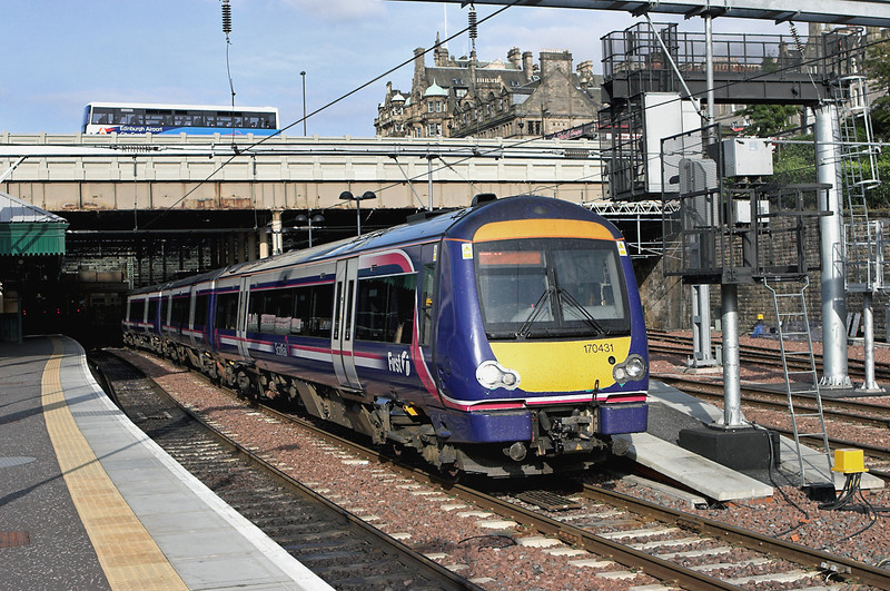 170431 Edinburgh 11/7/2009<br /> 1R45 1845 Edinburgh-Glasgow Queen Street