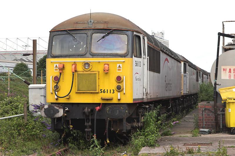 56113 and 56094, Crewe 11/7/2009