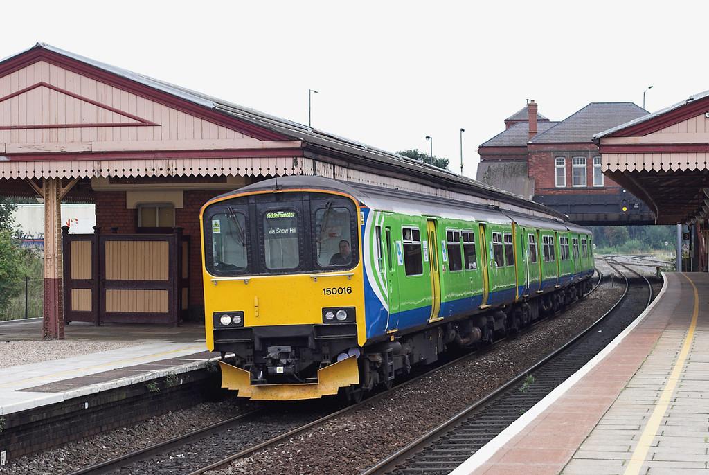 150016 Tyseley 11/8/2009<br /> 2K20 1109 Dorridge-Kidderminster